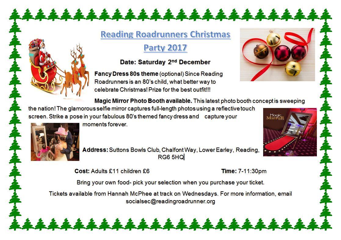 2017 Christmas Party @ Suttons Bowls Club | Earley | England | United Kingdom